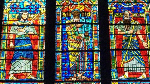 Moses window at Washington National Cathedral