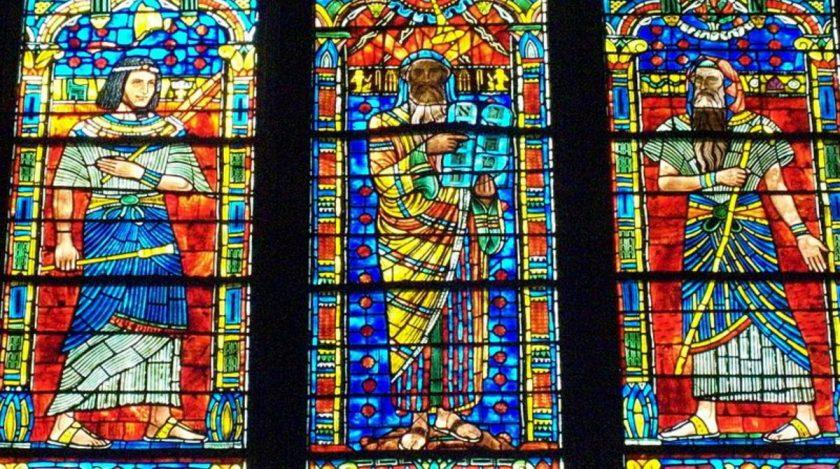 Moses window at Washington National Cathedral