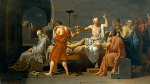 The Death of Socrates, Jacques-Louis David 1787