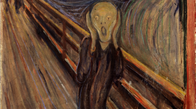 The Scream, by Edvard Munch, 1893