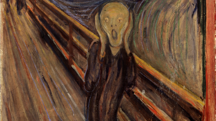 The Scream, by Edvard Munch, 1893