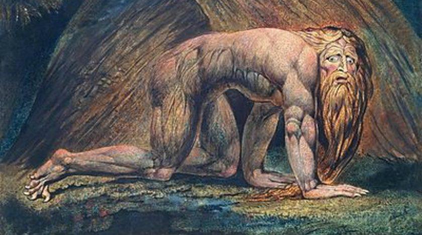 Nebuchadnezzar; William Blake, 1795