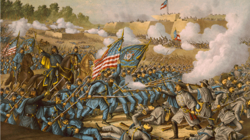 Battle of Williamsburg, 1893, Library of Congress