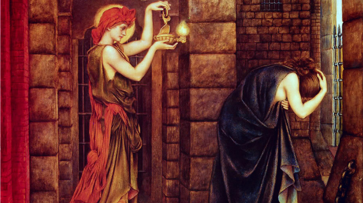 hope-in-a-prison-of-despair-evelyn-de-morgan-1887