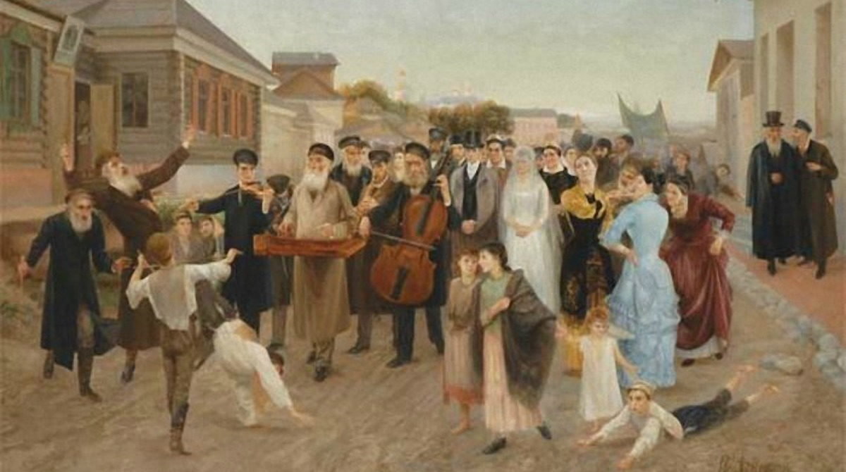 jewish-wedding-in-the-shtetl-isaak-asknaziy-1893