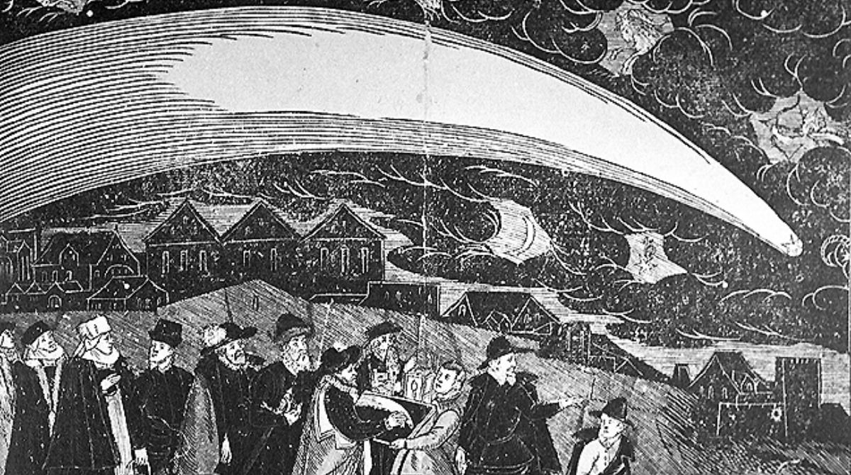 great-comet-of-1577-over-prague-woodcut-jiri-daschitzsky