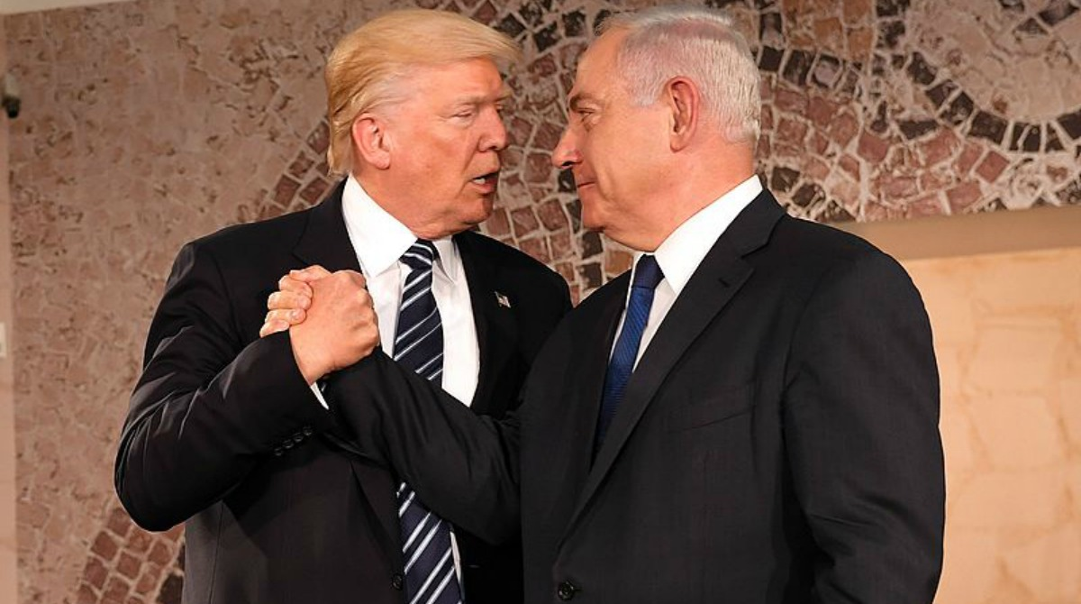 trump-netanyahu-israel-museum-2017